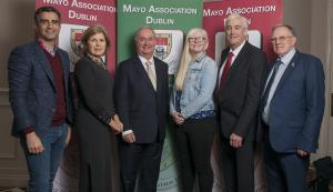 MAYO PEOPLE OF THE YEAR 2019 . Two of the Judges Of The Mayo people of The Year Awards Tommy Martin and Barbara Cotter are pictured with Cathal Hughes (Mayo Person Of The Year),  Sara McFadden (Mayo Young Person Of The Year) and Pat Diamond and Bernie Finan (MAYO ASSOCIATION MEITHEAL AWARD ). Pic: Michael Mc LaughlinIso: 280Copyright: Copyright Michael Mc Laughlin Studios 2018